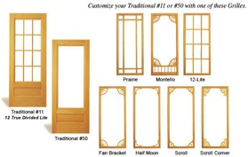 Traditional Storm Doors