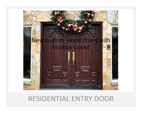 Residential Entry Door